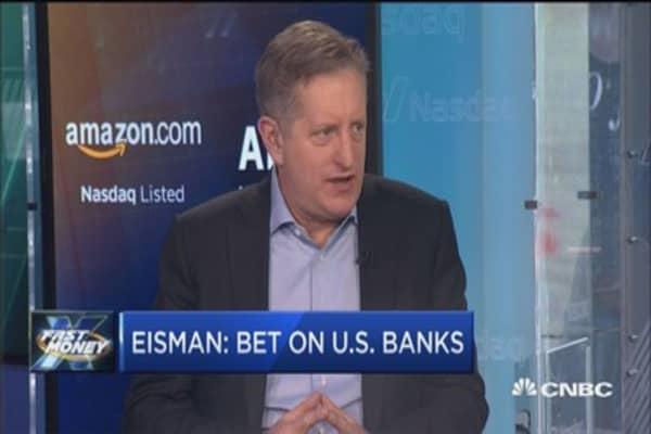 Bet on U.S. banks: Eisman