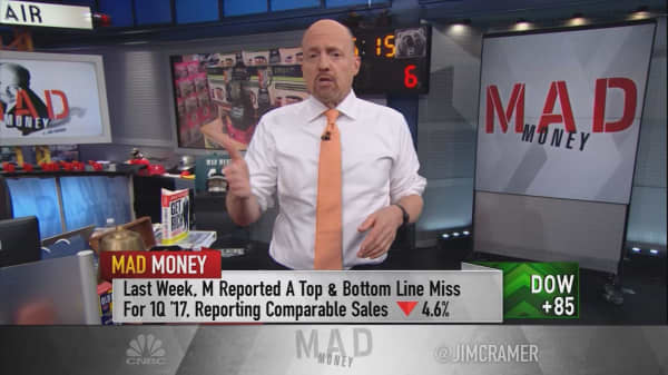 Cramer finds the silver lining in retail's disappointing earnings reports