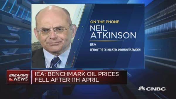 IEA: Oil market re-balancing is underway