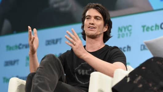CEO of WeWork Adam Neumann