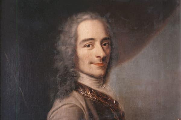 Portrait of Voltaire by Quentin La Tour in 1736.