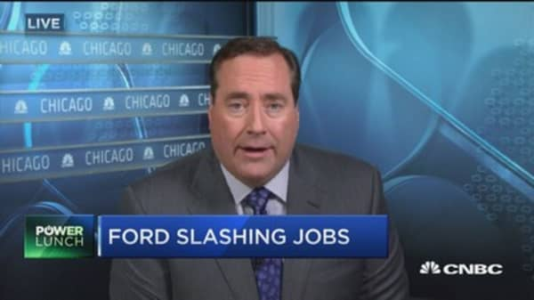 Ford slashing jobs