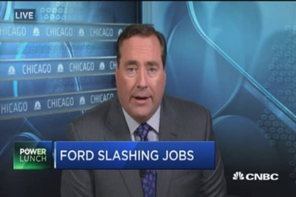 Ford slashing jobs