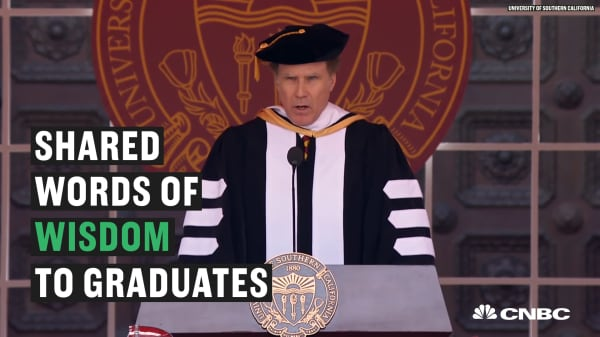 Will Ferrell speech to USC's students will inspire you to take more risks
