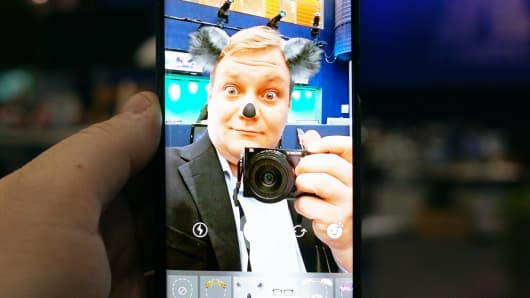 CNBC Tech: Instagram Face Filters 5