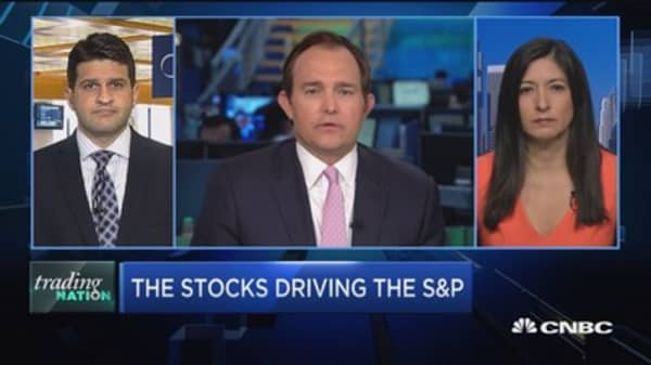 Trading Nation: 4 stocks are 10% of S&P 500