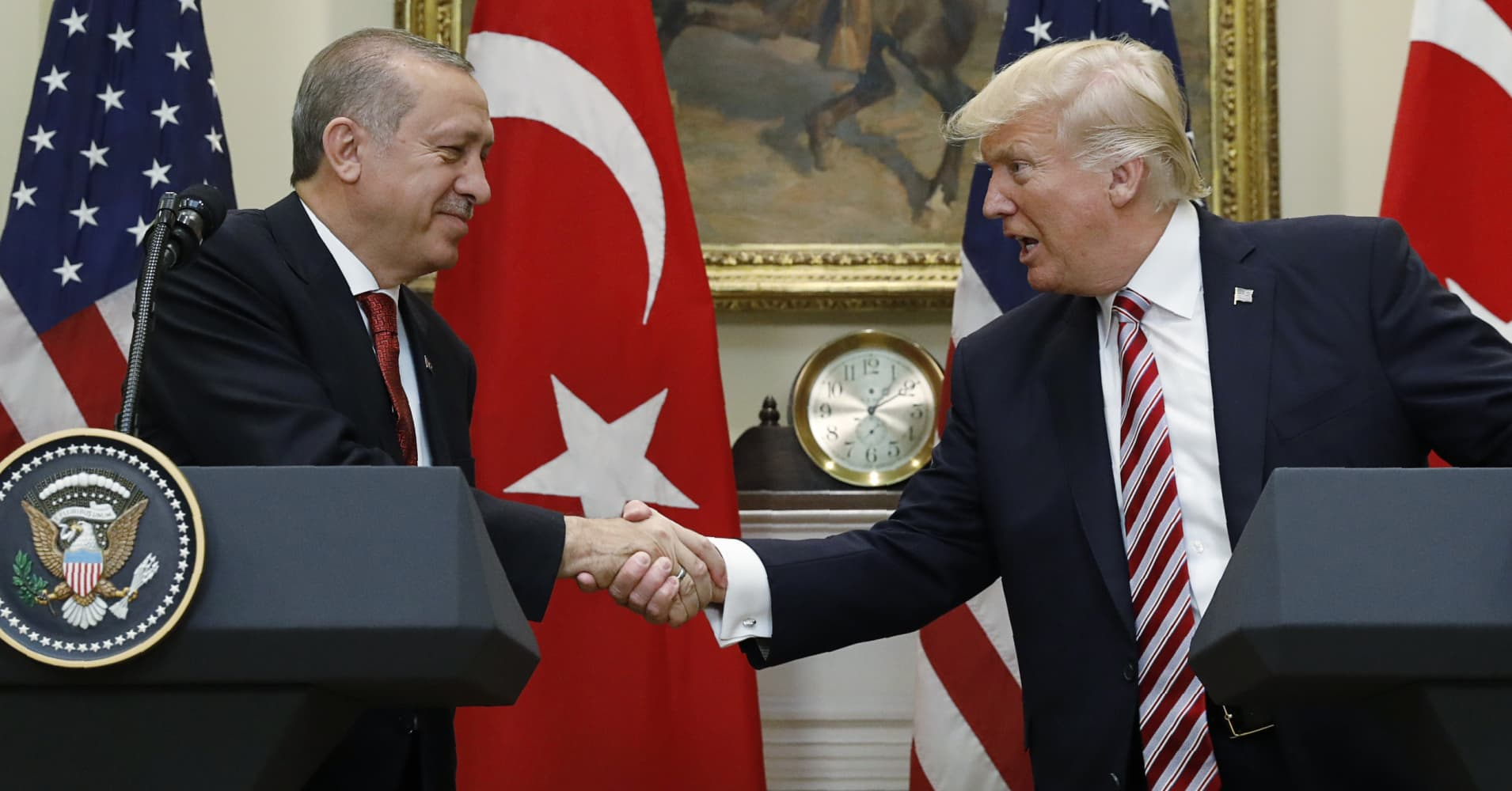 Turkey's president: Trump told me he's 'sorry' about violence involving Turkish bodyguards in DC