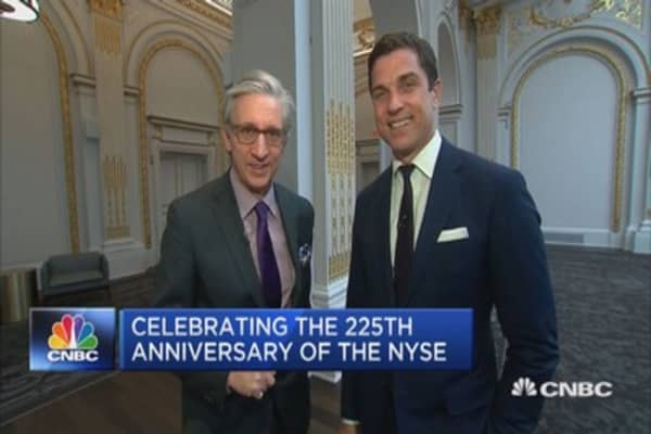 NYSE celebrates its 225th anniversary