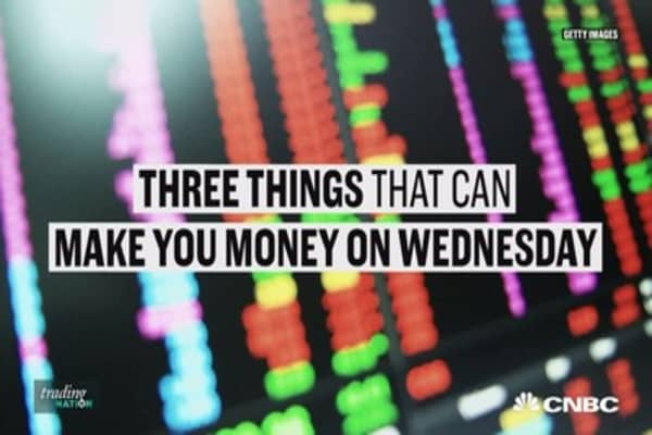 Three ways you can make money on Wednesday