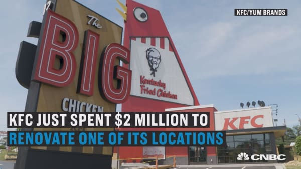 KFC spent $2 million to revamp this one restaurant