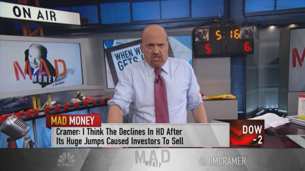 Cramer explains the challenges of staying invested in winning stocks