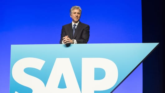 Bill McDermott is the chief executive officer of SAP AG.