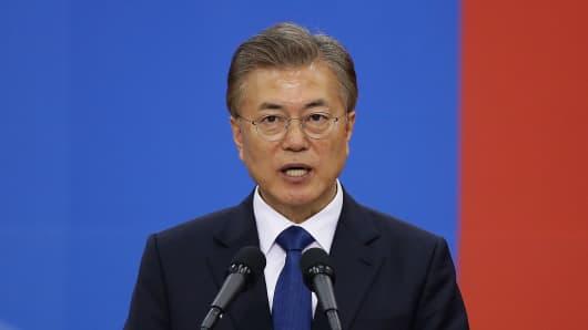 South Korea's new President Moon Jae-In