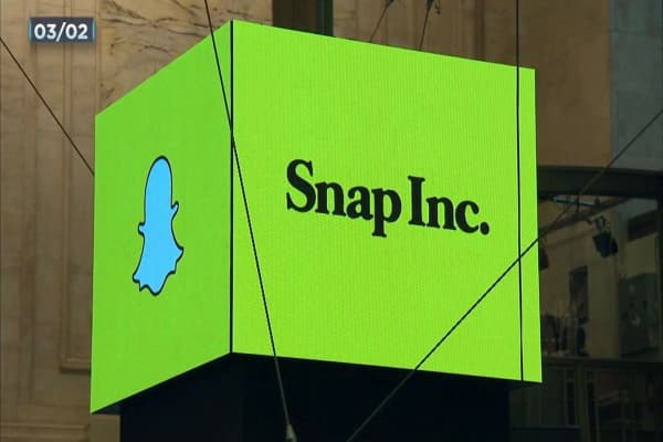 Traders are increasing their bets against Snap shares