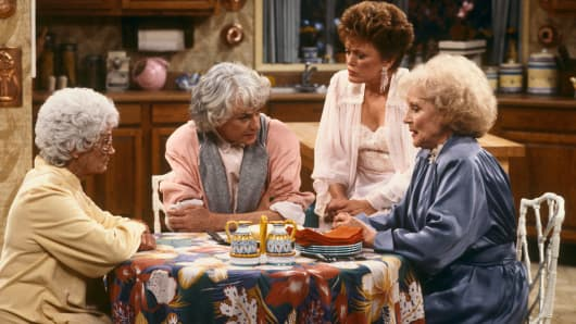 Scene for the show The Golden Girls.
