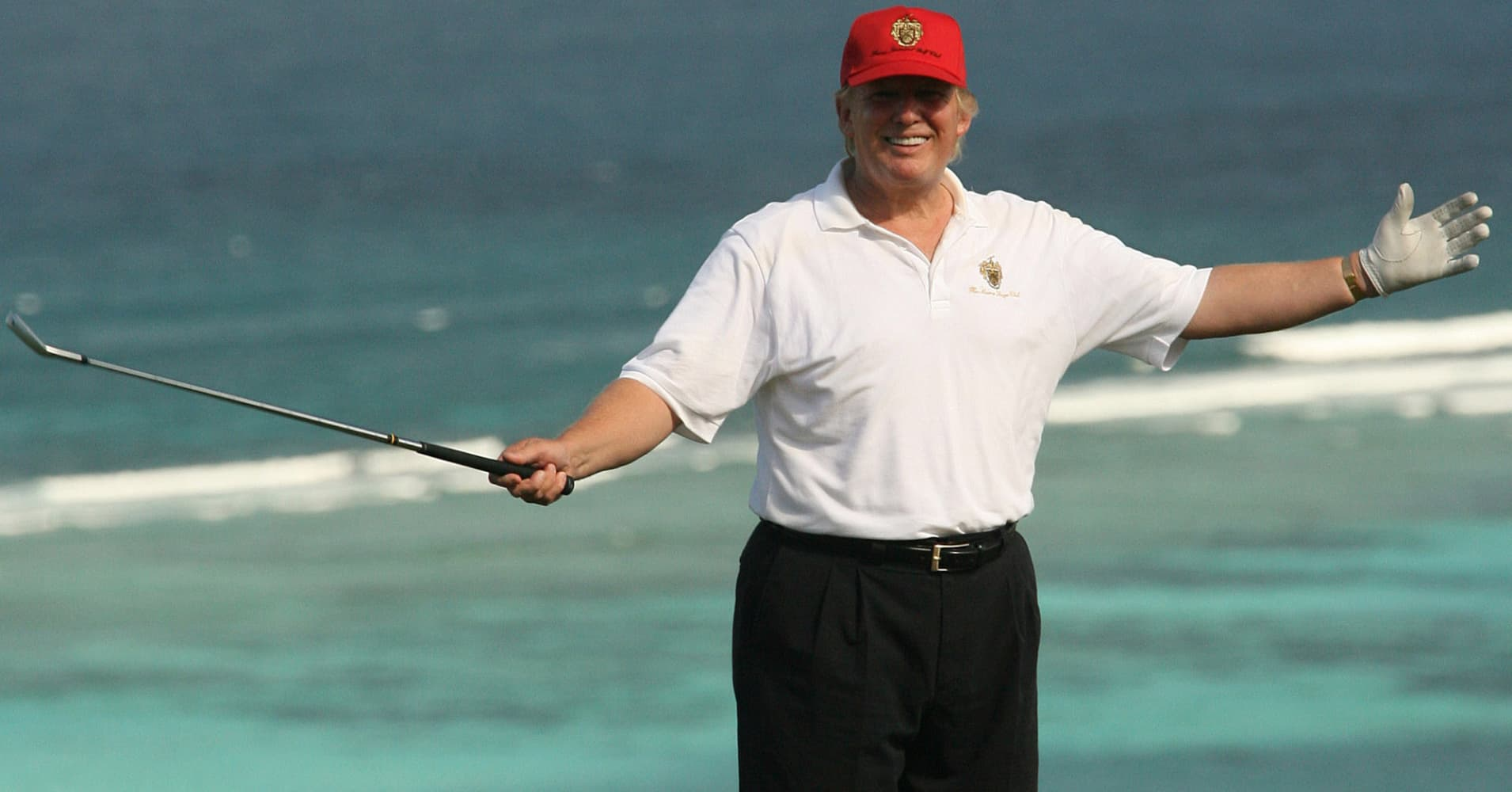Price of Trump's Caribbean estate slashed by $11 million