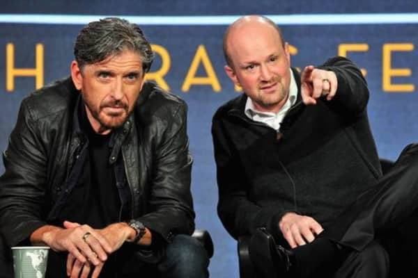 "Brian Volk-Weiss and Craig Ferguson. Comedy Dynamics' first cable series ""Join or Die"" starring Craig Ferguson will premiere on Thursday, February 18th, 2016 on the History Channel."