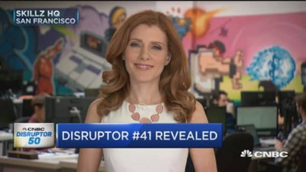 CNBC's 2017 Disruptor 50 list new category: Esports, competitive video gaming