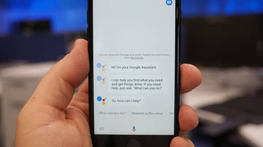 CNBC Tech: Google Assistant iOS 2