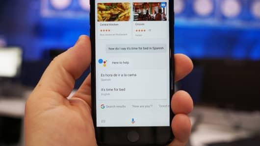 CNBC Tech: Google Assistant iOS 5