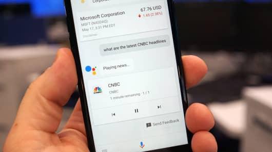 CNBC Tech: Google Assistant iOS 7