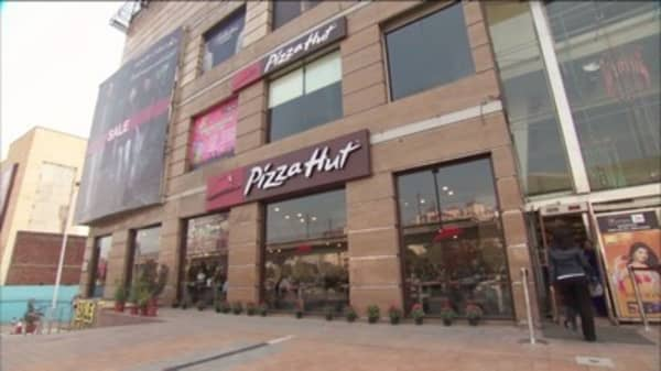 Papa John's knocks Pizza Hut out of top spot
