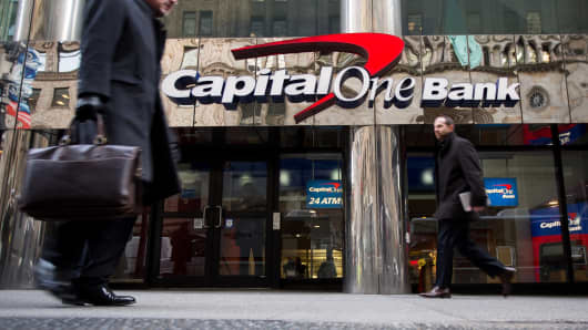 Capital One says its working to restore services after 'technical issue' downs online and mobile banking