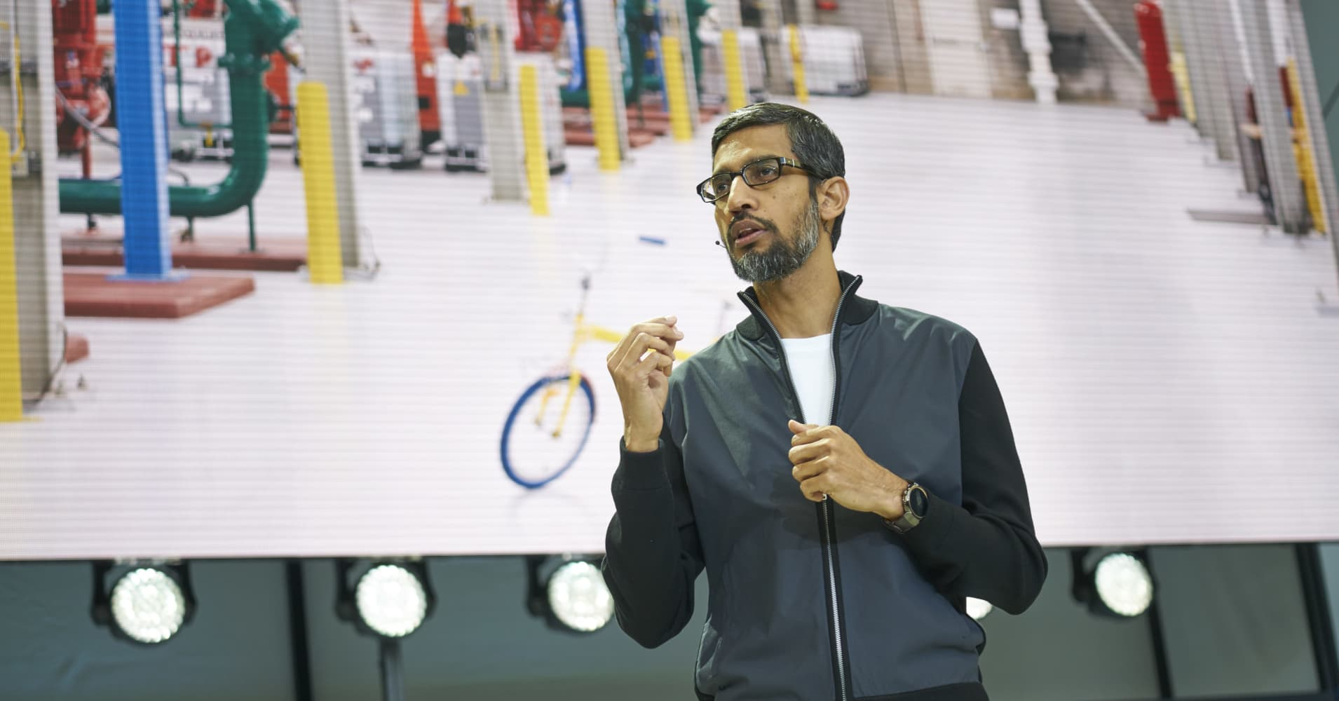Google CEO: 'The bigger you are, the more you may be at a disadvantage'