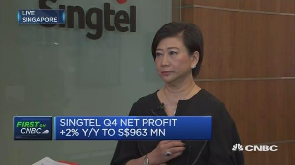 Singtel focusing on cybersecurity opportunities