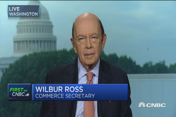 Sec. Ross: We have to get on with it, Russia probe just a side show