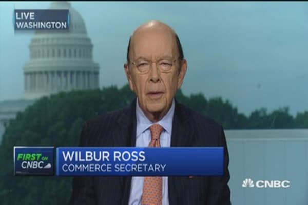 Sec. Ross on trade, Russia probe, NAFTA