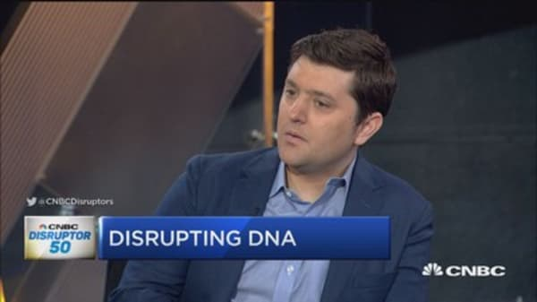 Gingko Bioworks disrupting DNA