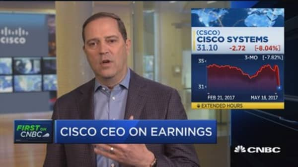 Cisco CEO on transition to software and subscription