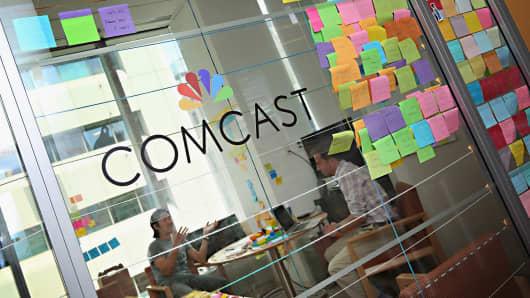Comcast offices in Philadelphia, Pennsylvania.