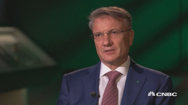 The inability to access international markets is painful for Sberbank, says CEO