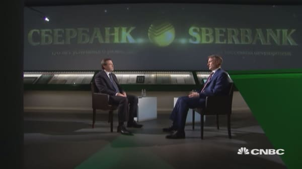Sberbank CEO: For now, there's little chance of any changes in US-Russian relations