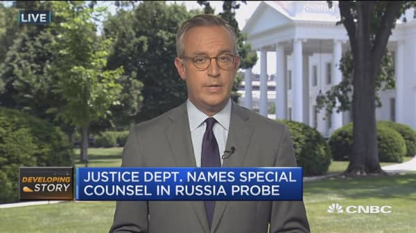 Justice Dept. names special counsel in Russia probe