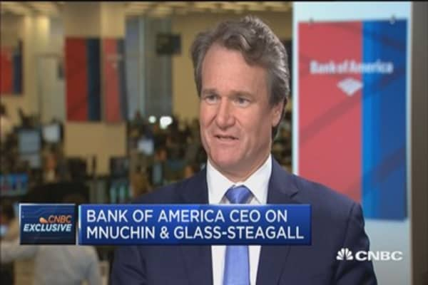 Bank of America CEO: The real question is how does the banking system help economies grow