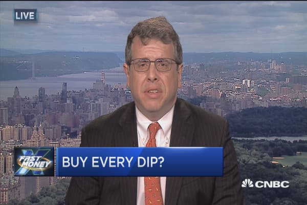 Keep buying the dip: Strategist