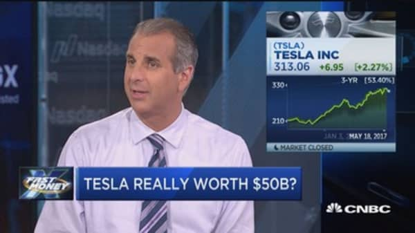 Is Tesla really worth $500b?