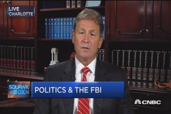 Fmr. FBI: We don't need a career politician running the FBI