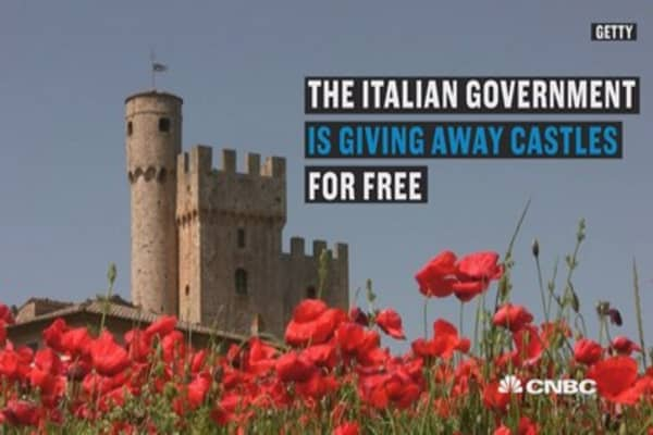 Italy is giving away over 100 castles for free – there's only one catch