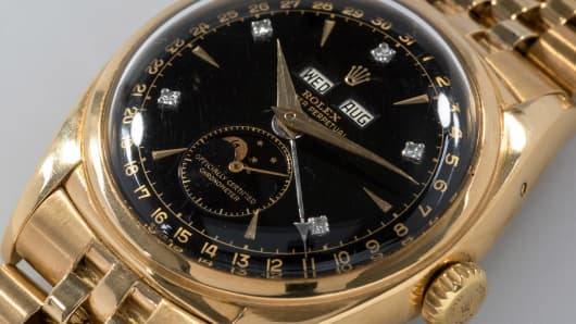 "The ""Bao Dai"" is the most expensive Rolex ever auctioned."