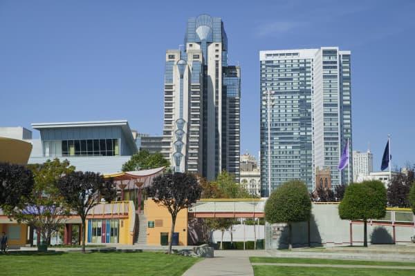 Yerba Buena Gardens, San Francisco
