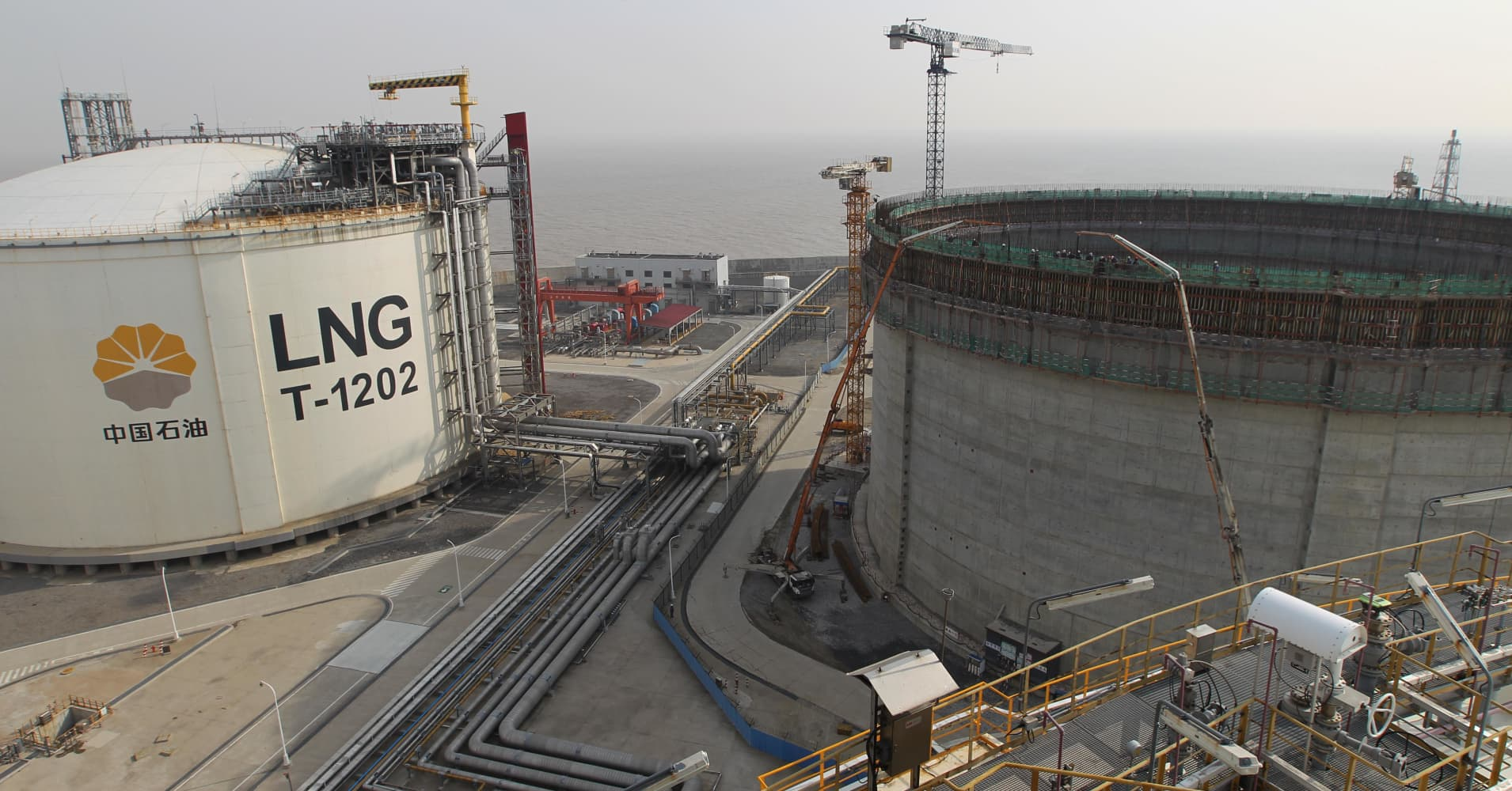 China S Tariff On Us Natural Gas Delays Louisiana Lng Project