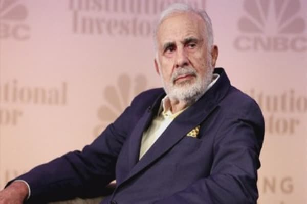 Carl Icahn's own charity lent him a total of $118.7 million