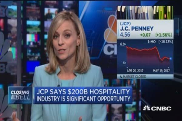 J.C. Penney wants in on the hospitality industry