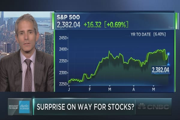 Portfolio strategist reveals a market surprise