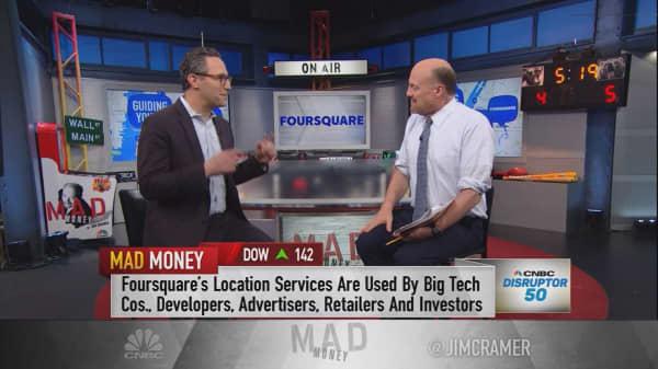 Foursquare CEO: