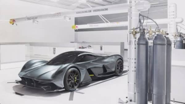 Aston Martin's future car will 3-D scan your body for the driver seat